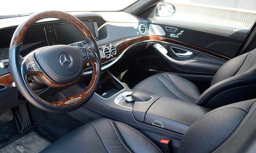 Аренда авто Mercedes-Benz S-класс W222 S500 - фото 6