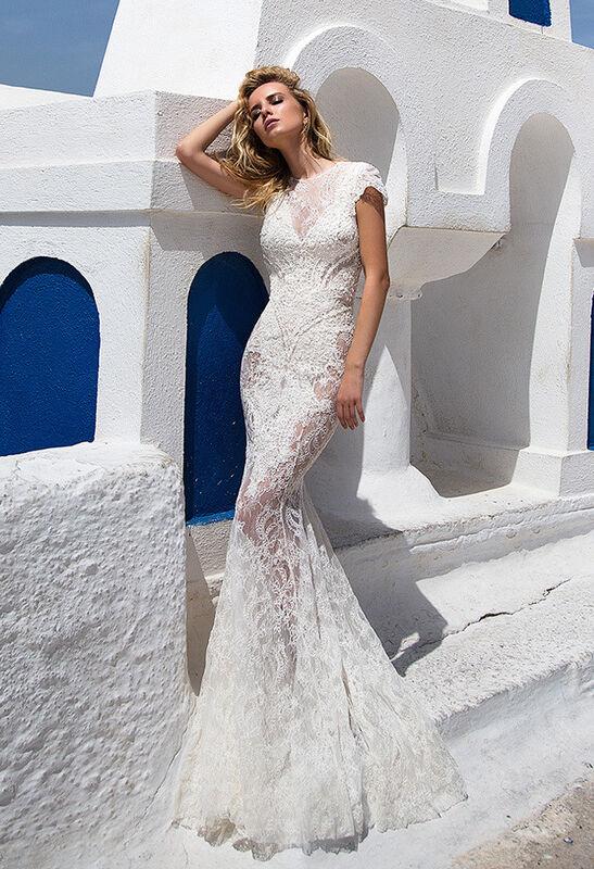 Свадебное платье напрокат Oksana Mukha Платье свадебное Venera - фото 1