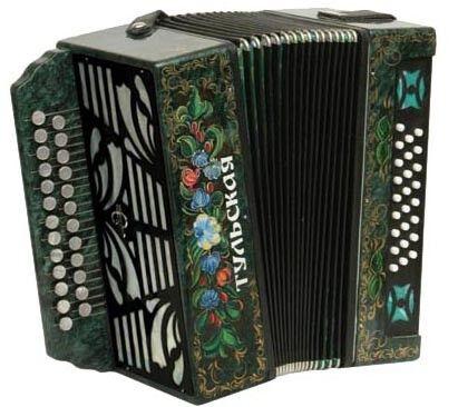 Музыкальный инструмент Тульская гармонь Гармонь 301М - фото 1