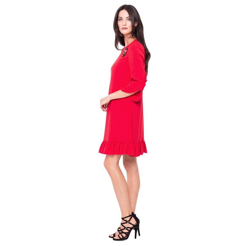 Платье женское L'AF Платье Arize 39YL (красное) - фото 1