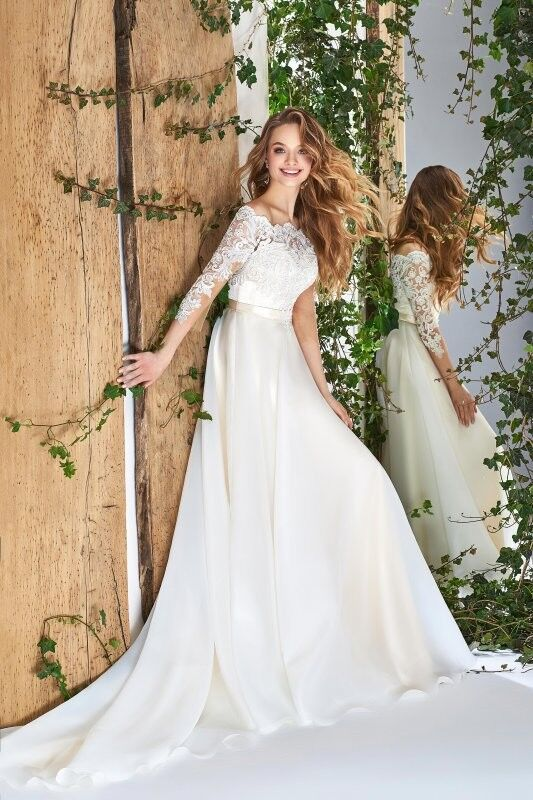 Свадебный салон Papilio Свадебное платье «Wonderland» #1824-L Хедера - фото 1