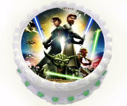 Торт Tortas Торт «Звёздные войны» №2 - фото 1