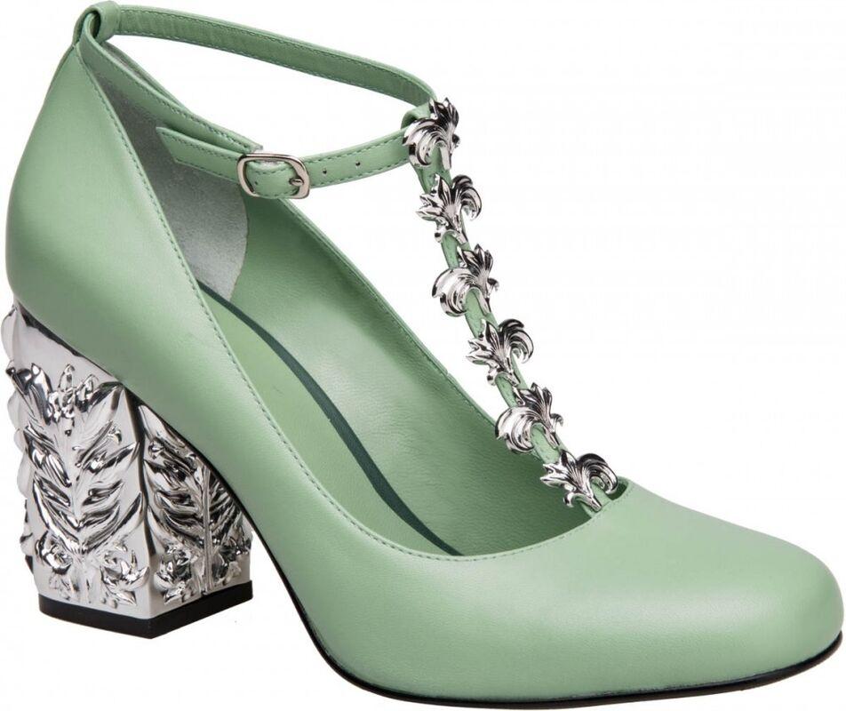 Обувь женская Alla Pugachova Туфли женские 1990-19 light green - фото 1