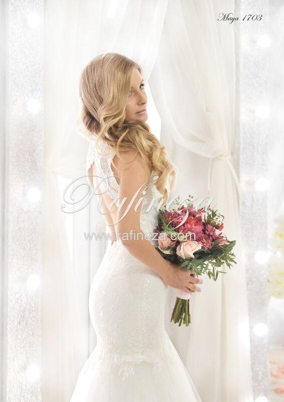 Свадебное платье напрокат Rafineza Свадебное платье Maya - фото 3