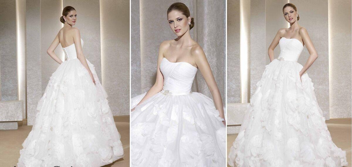 Свадебное платье напрокат Novia D'Art Свадебное платье Alma - фото 2