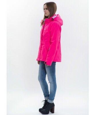Спортивная одежда Free Flight Женская горнолыжная мембранная куртка розовая - фото 3