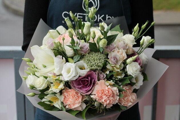 Магазин цветов Cvetok.by Букет «Дуновение нежности» - фото 1