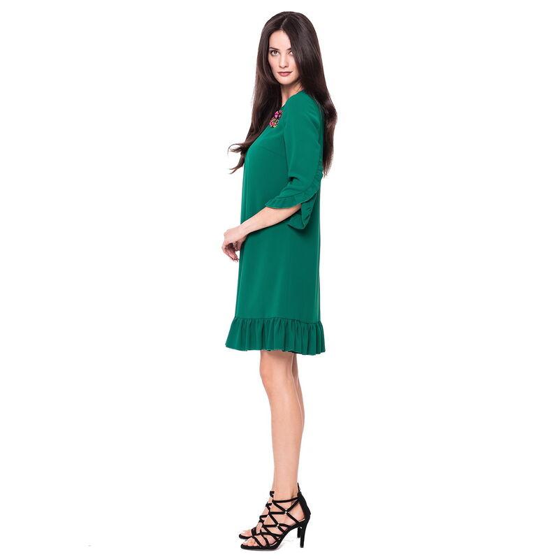 Платье женское L'AF Платье Arize 39YL (зелёное) - фото 1