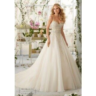Свадебное платье напрокат Mori Lee Платье свадебное 2824 - фото 1