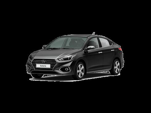 Прокат авто Hyundai Solaris черный 2018 - фото 3