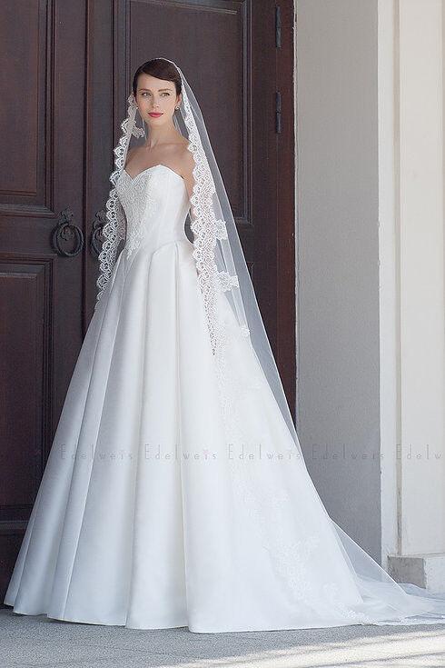 Свадебное платье напрокат Edelweis Платье свадебное «Penelope» - фото 1