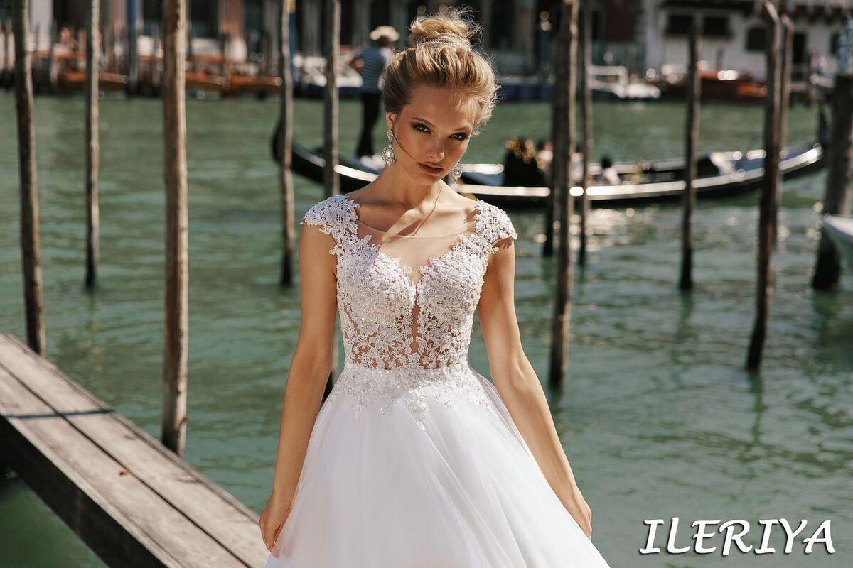 Свадебный салон Bonjour Galerie Свадебное платье Ileriya из коллекции La Douceur - фото 5