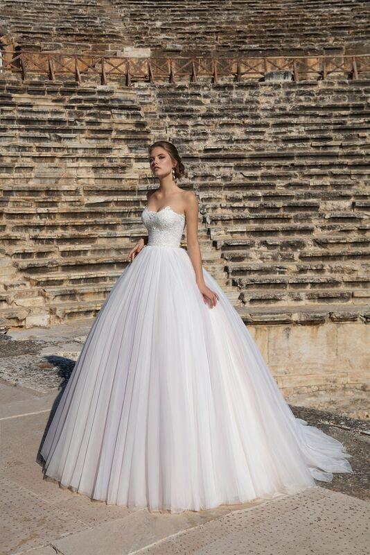 Свадебное платье напрокат ALIZA Платье свадебное «Samanta» - фото 1