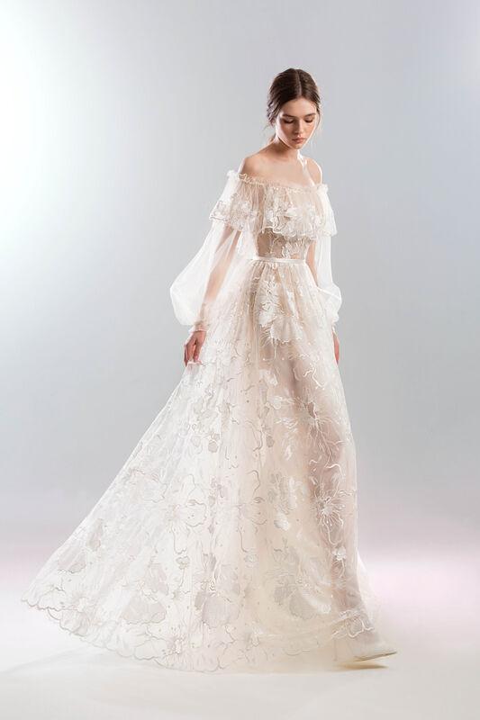 Свадебный салон Papilio Свадебное платье «Мистраль» - фото 1