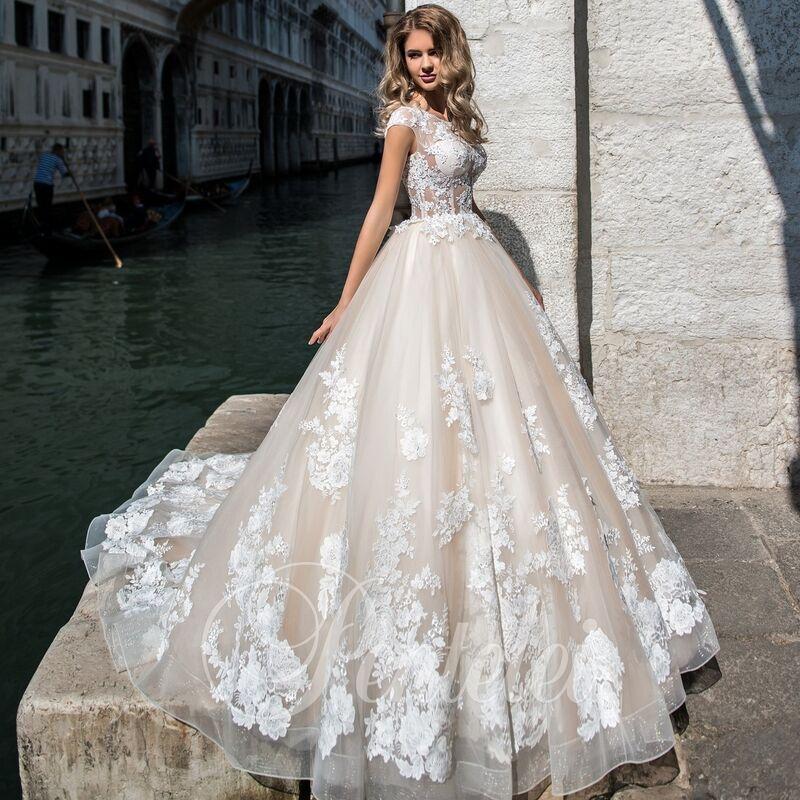 Свадебное платье напрокат Lavender Свадебное платье Sandra - фото 1