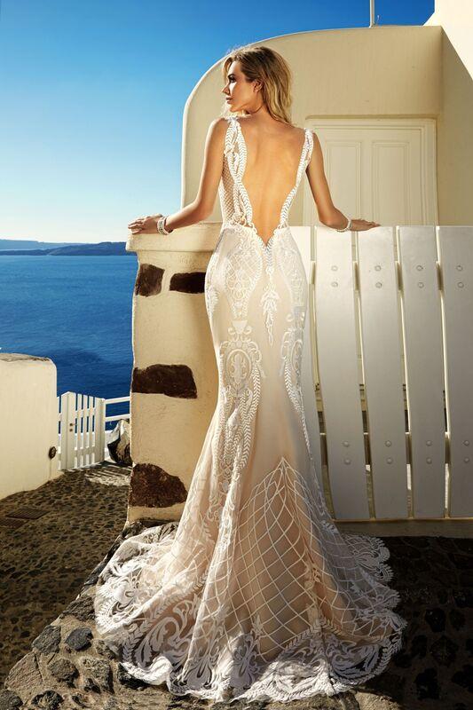 Свадебное платье напрокат Eva Lendel Платье свадебное Tailor - фото 3