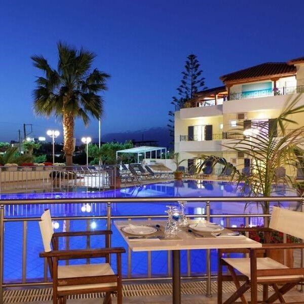 Туристическое агентство EcoTravel Пляжный авиатур в Грецию, Крит, Philoxenia Hotel Malia 3*, 10 ночей - фото 1