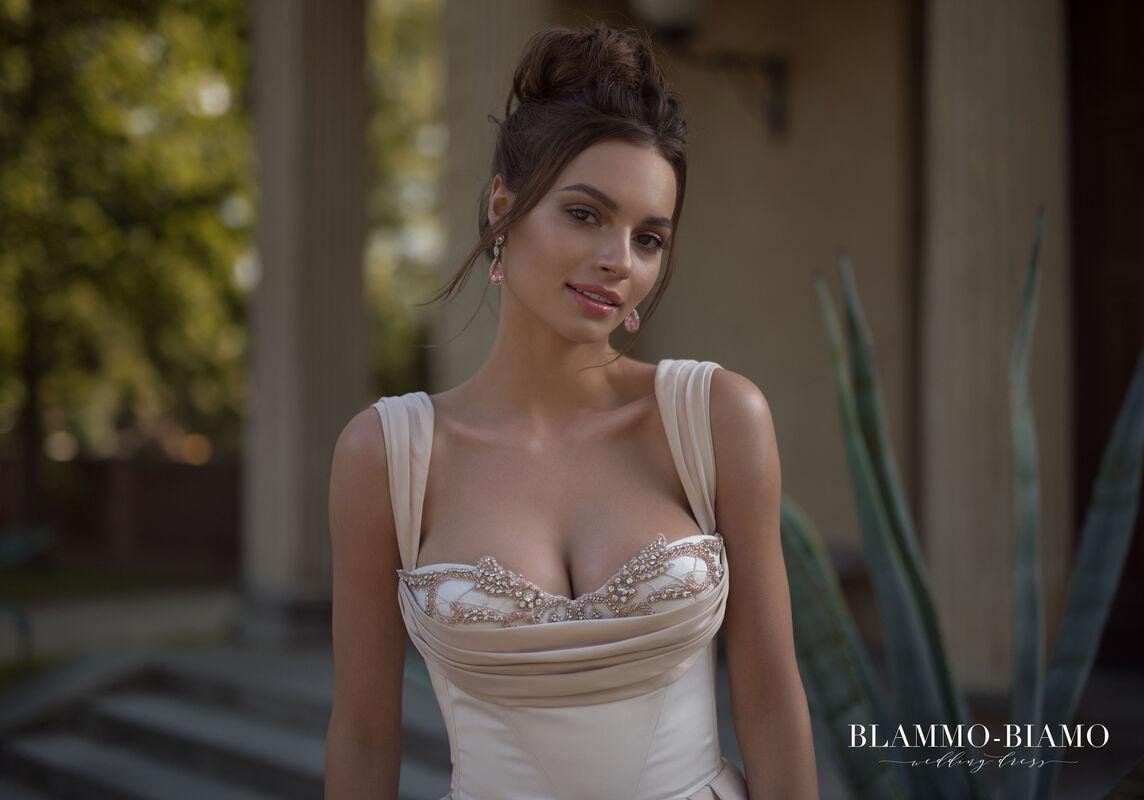 Свадебное платье напрокат Blammo-Biamo Платье свадебное The Rice Lolis - фото 5