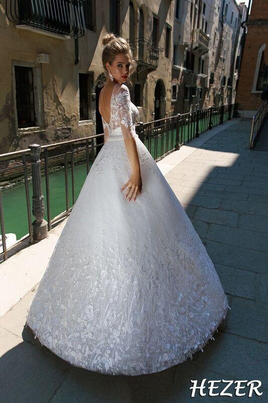 Свадебный салон Bonjour Galerie Свадебное платье Hezer из коллекции La Douceur - фото 3
