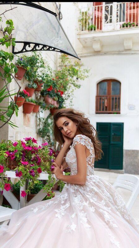"""Свадебное платье напрокат ALIZA свадебное платье """"Fleviani"""" - фото 3"""