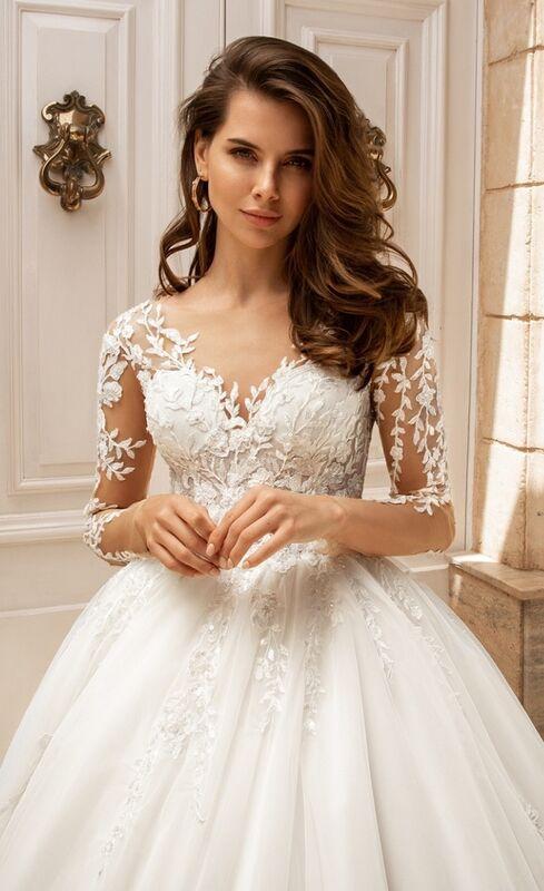 Свадебный салон Vanilla room Свадебное платье Менди - фото 1