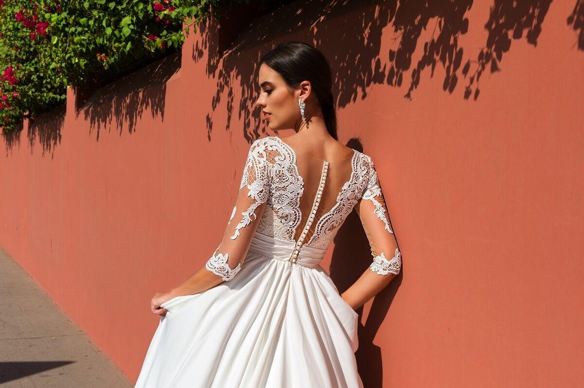 Свадебное платье напрокат Crystal Свадебное платье Simona - фото 3