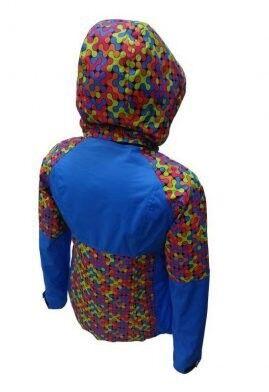 Спортивная одежда Free Flight Женская горнолыжная мембранная куртка, модель №1328 - фото 2