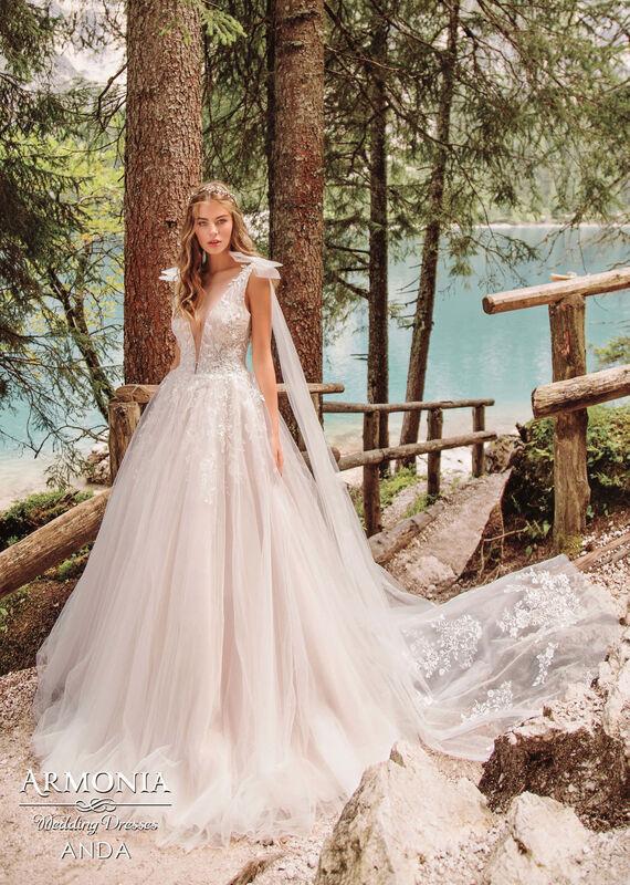 Свадебный салон Armonia Свадебное платье Anda - фото 1