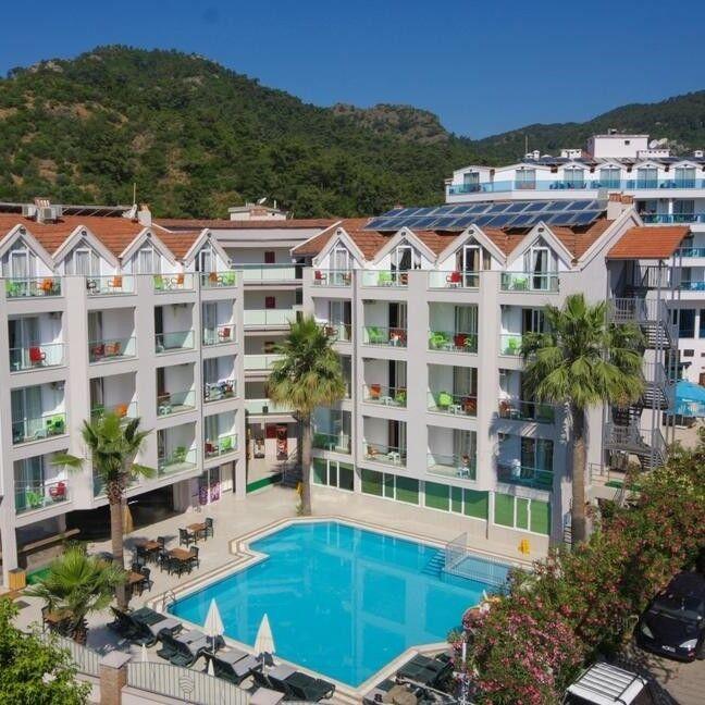 Туристическое агентство Голд Фокс Трэвел Пляжный aвиатур в Турцию, Мармарис, Palmea Hotel 4* - фото 1