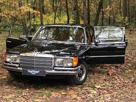 Прокат авто Mercedes-Benz W116 1979 г. - фото 1