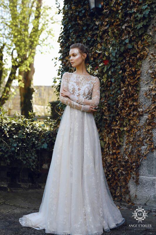 Свадебное платье напрокат Ange Etoiles Платье свадебное AEriality Collection Ilyin - фото 1