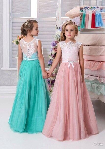 Вечернее платье Childrendress Нарядное детское платье 0009-16 - фото 1