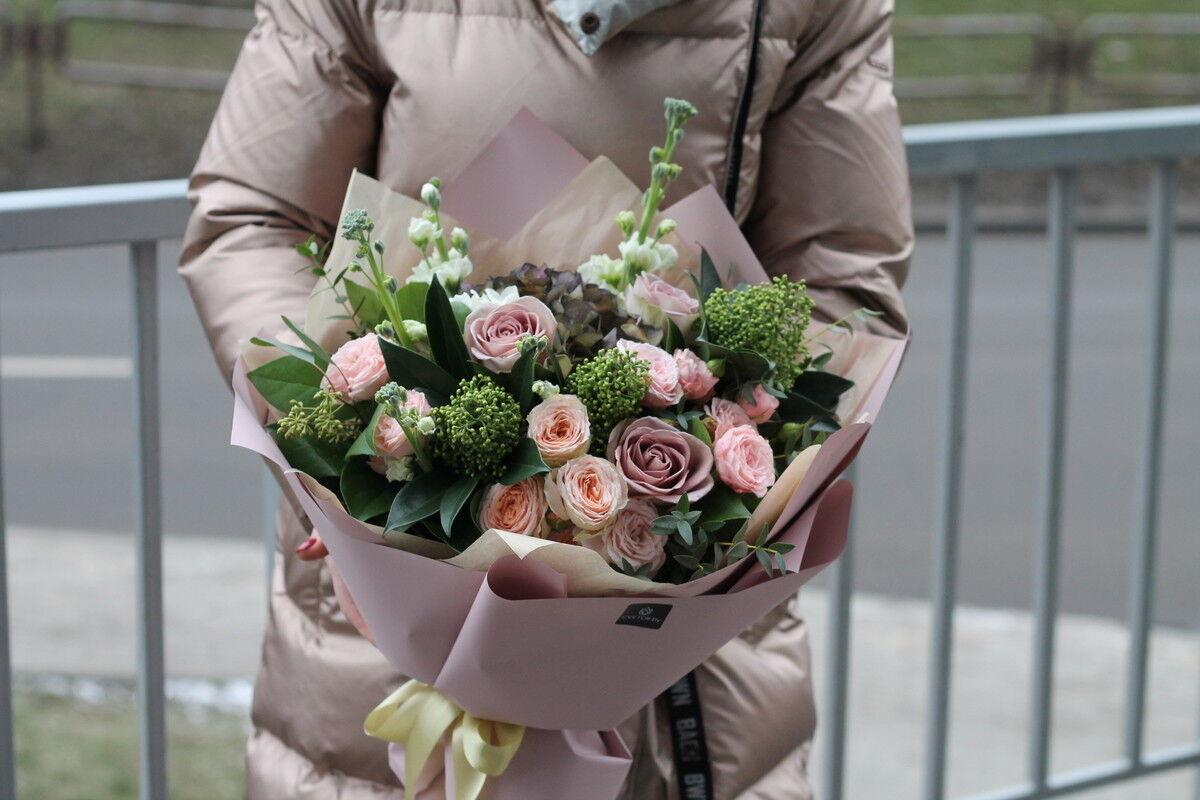 Магазин цветов Cvetok.by Букет «Пастель» - фото 1