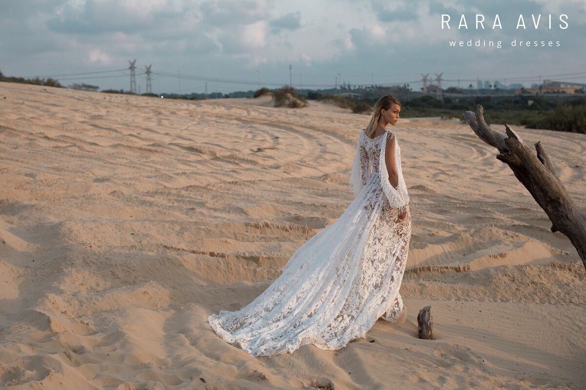 Свадебный салон Rara Avis Платье свадебное Wild Soul Omrish - фото 4