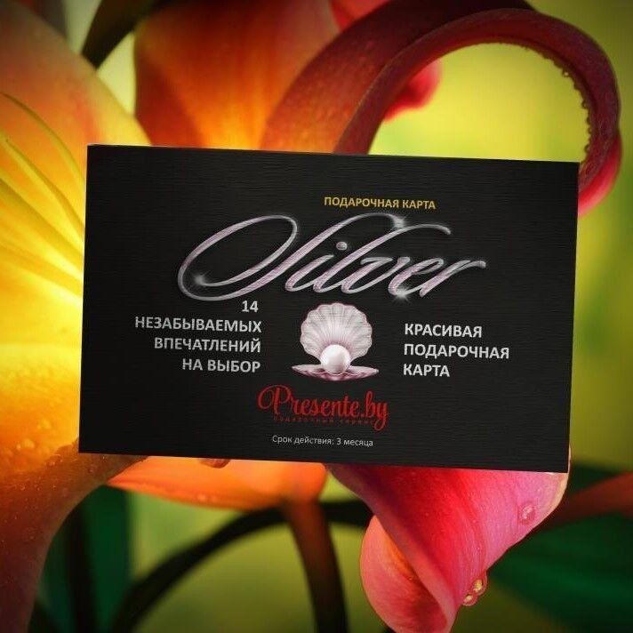 Магазин подарочных сертификатов Spa Paradise Подарочная карта «Silver» - фото 1