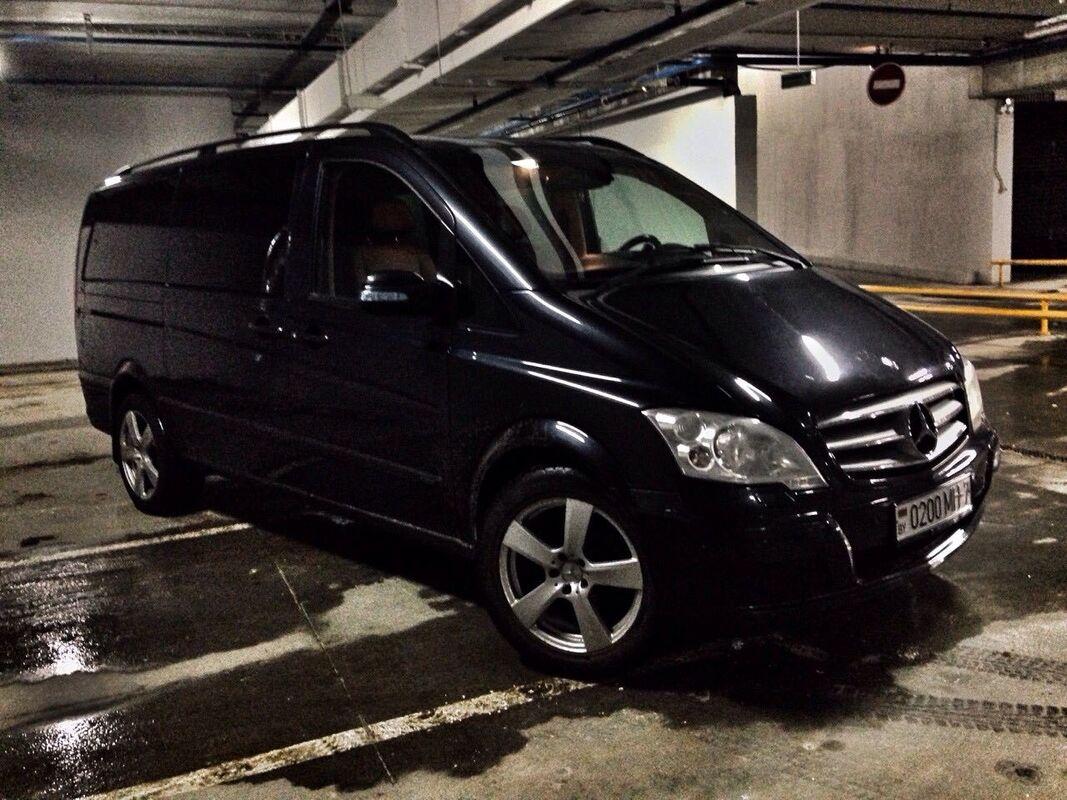 Аренда авто Mercedes-Benz Viano 2011 г.в. - фото 1