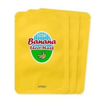Уход за лицом A'Pieu Sweet Маска тканевая Банан - фото 1