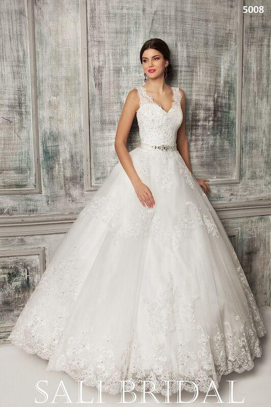 Свадебное платье напрокат Sali Bridal Платье свадебное 5008 - фото 1