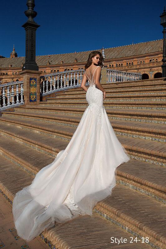 Свадебное платье напрокат Giovanna Alessandro Свадебное платье Ariela - фото 3