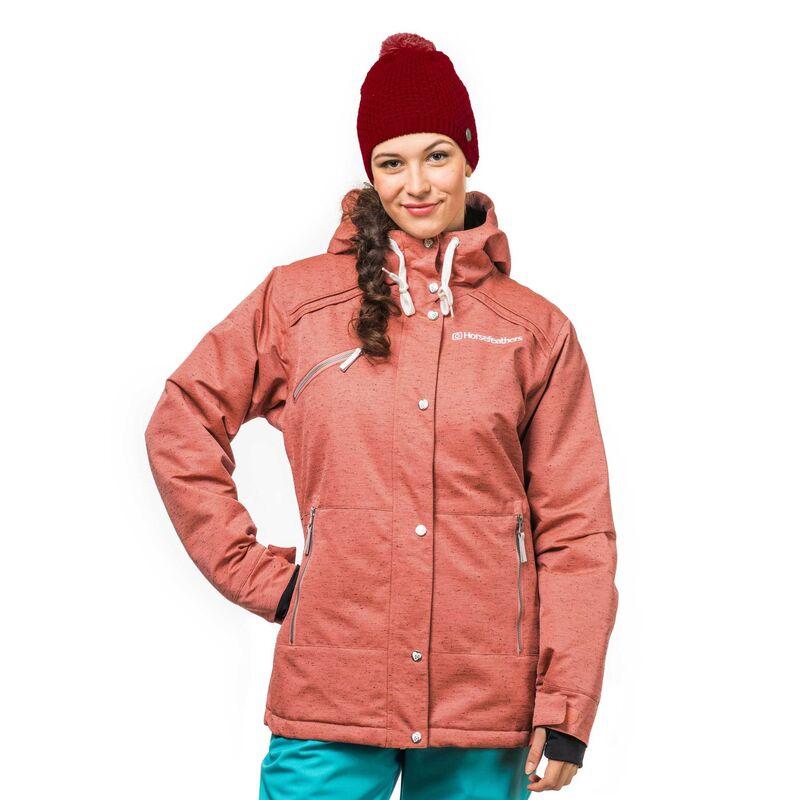 Спортивная одежда Horsefeathers Сноубордическая куртка Сharleen 1617  коралловый - фото 1 a44b67e7ef9