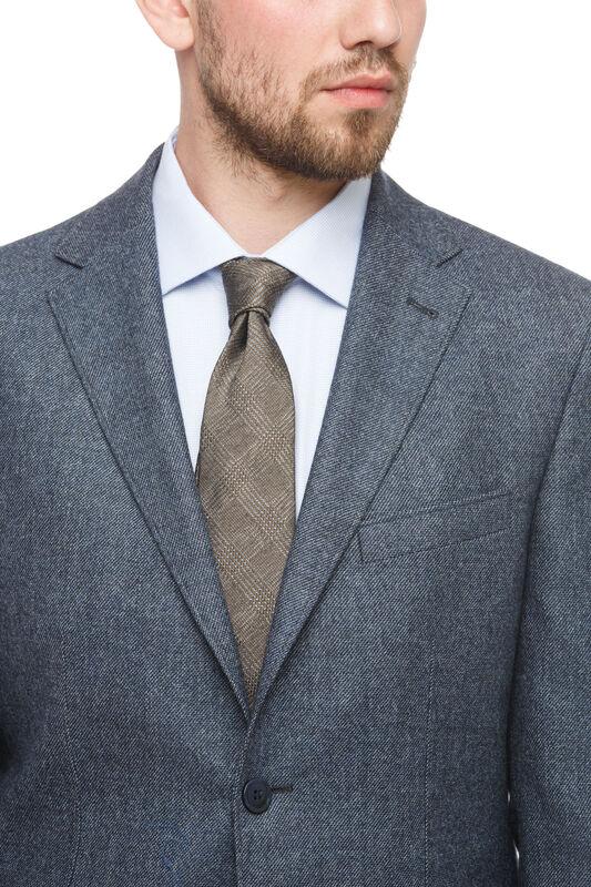 Пиджак, жакет, жилетка мужские HISTORIA Пиджак серый с накладными карманами - фото 2