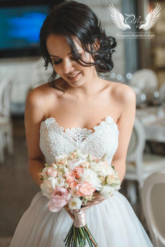Свадебный салон ALIZA Платье свадебное «Samanta» Ameli Benya - фото 4
