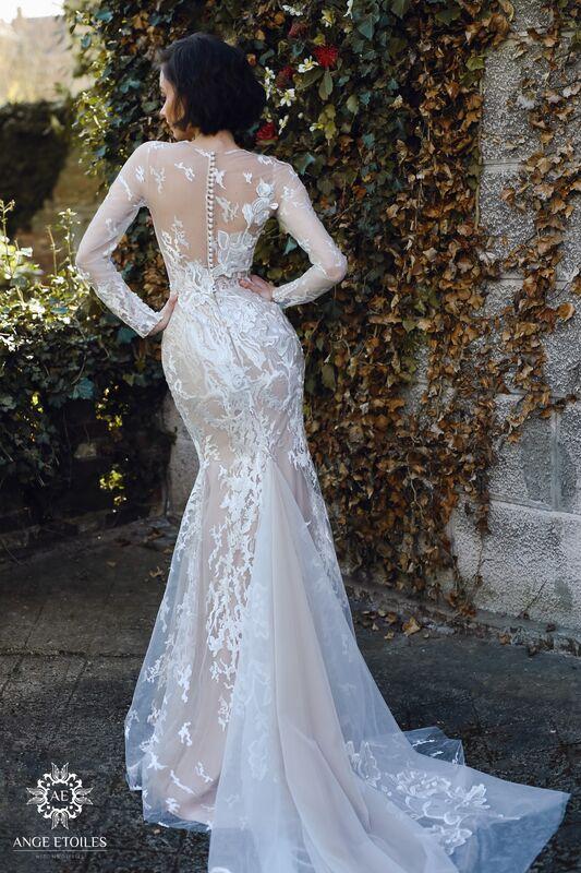 Свадебное платье напрокат Ange Etoiles Платье свадебное AEriality Collection Rosaly - фото 3