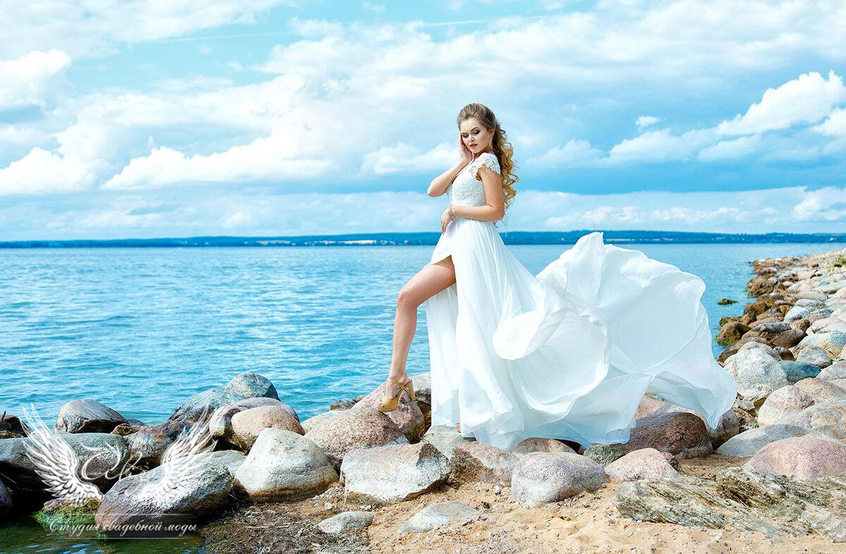 Свадебное платье напрокат ALIZA Свадебное платье «Lizi» Ameli Benya - фото 4
