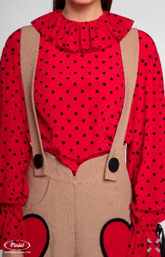 Костюм женский Pintel™ Комплект из блузы и брюк Manolis - фото 3