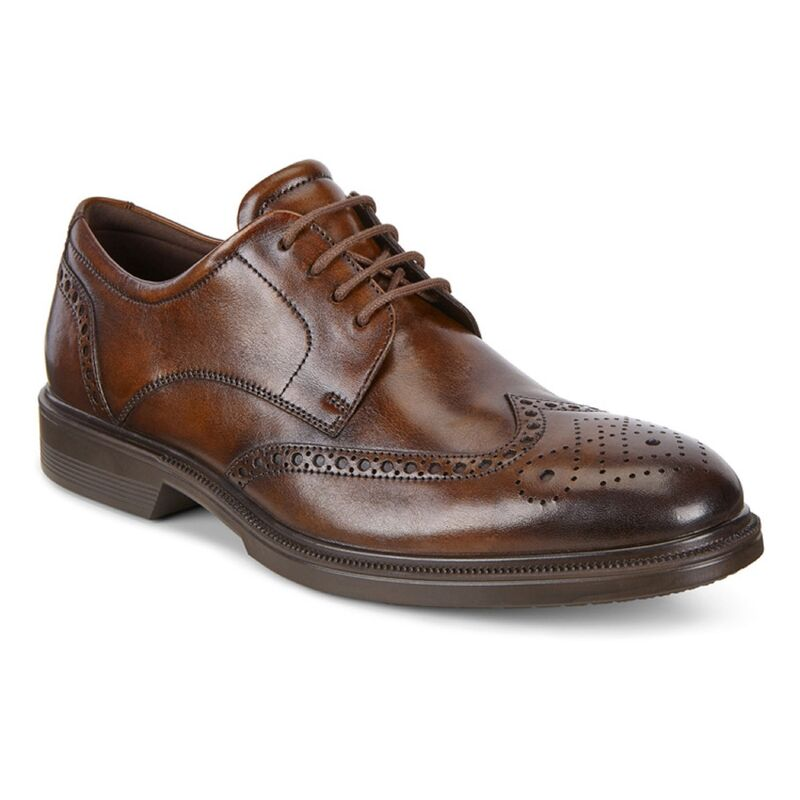 Обувь мужская ECCO Броги LISBON 622164/01482 - фото 1