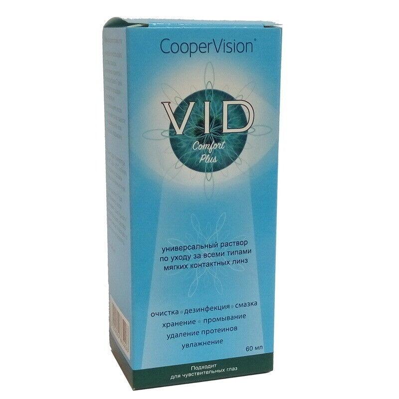 Уход за линзами Cooper Vision Раствор Vid Comfort Plus 60 мл - фото 1