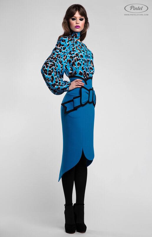 Костюм женский Pintel™ Комплект из блузы и юбки Brianna - фото 2