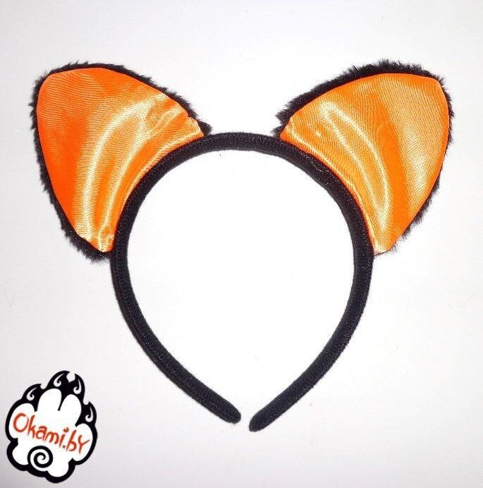 Подарок Оками Ушки оранжевые - фото 1