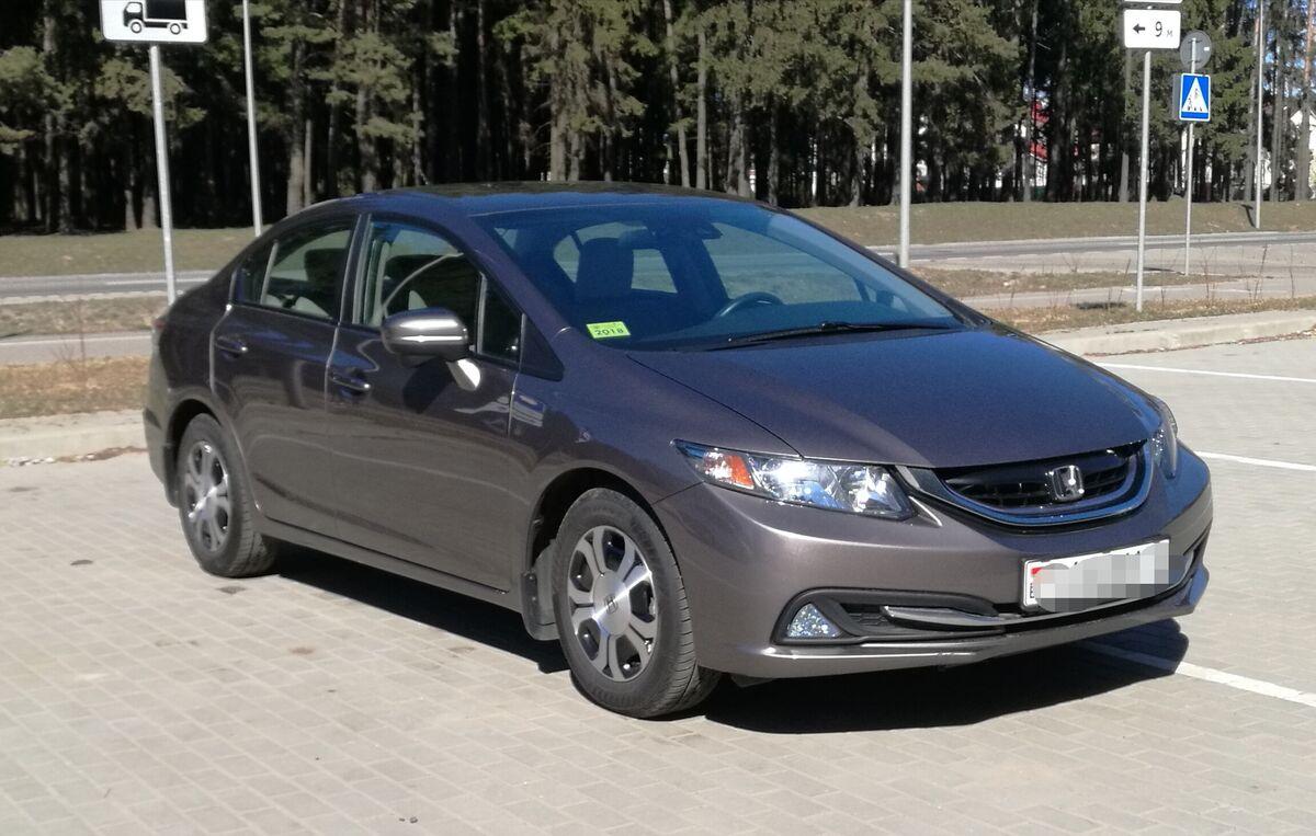 Прокат авто Honda Civic AT - фото 7